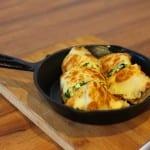 Asparagus and Salmon Crustless Quiche