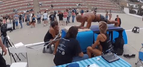 World Record Setting Plank