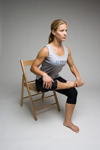 Seated Piriformis Stretch Pure Health