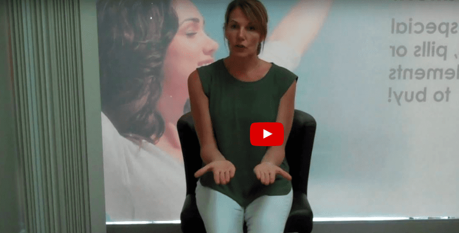 Posture desk stretch