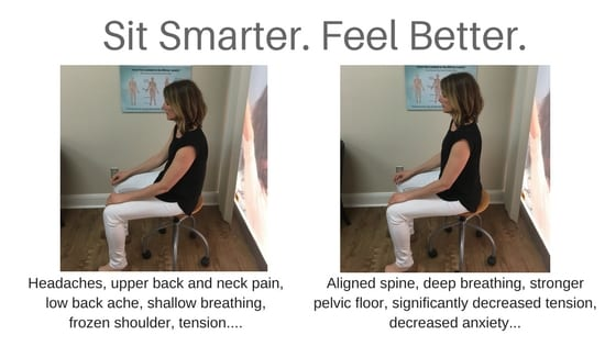 Correct Your Sitting Posture with this Simple Step