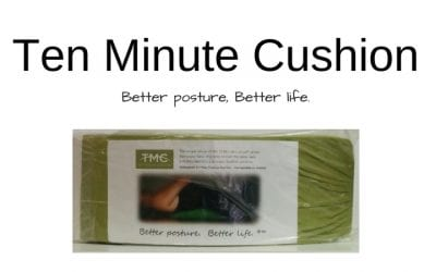 Correct Your Posture with the Ten Minute Cushion