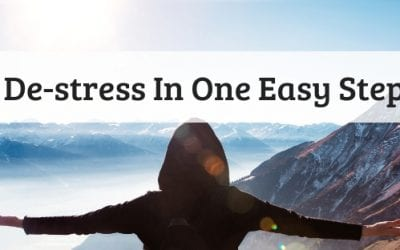 De-stress In One Easy Step