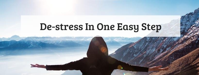 De-stress In One Easy Step